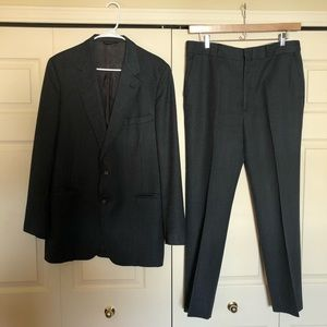 Other - Grey pinstripe wool men's suit